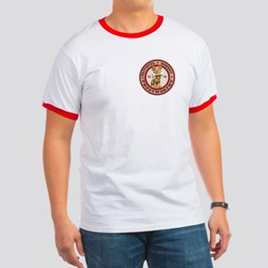 """""""Year of the Dog [Red & Brown Ringer T"""